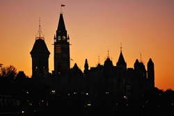 Sunset at Parliament Hill