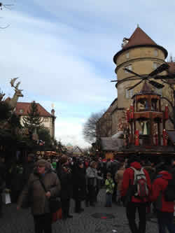 Go to a Fest, any Fest.  But the best Fests are the Weihnachtsmarkts.  Stuttgart's is one of the largest in Germany, and it does not disappoint its visitors.