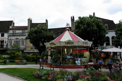 Carousel in Beaune- any town in France worth its salt has one!