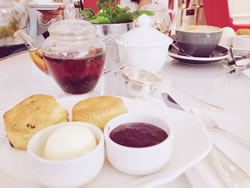 One of the many great things about living in London: afternoon tea